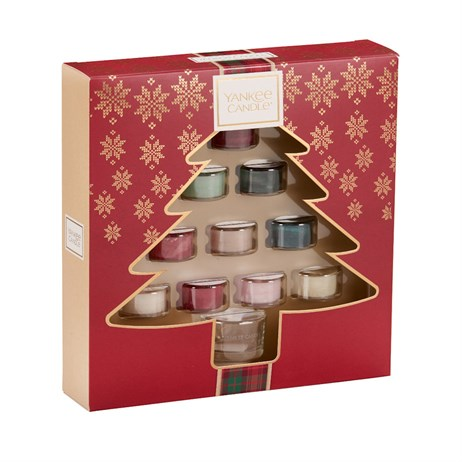 Yankee Candle Christmas 10 Tea Lights & 1 Holder Gift Set (1624310)