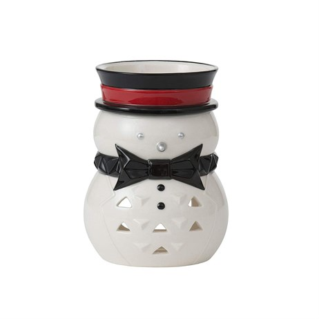 Yankee Candle Christmas Decoration - Jackson Frost Snowman Luminary Tea Light Holder (1521478)