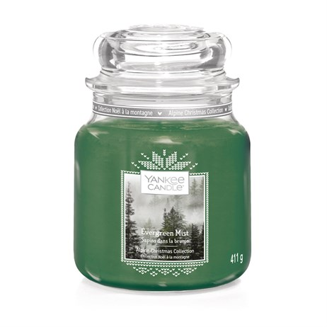 Yankee Candle Christmas - Medium Jar - Evergreen Mist (1623724E)