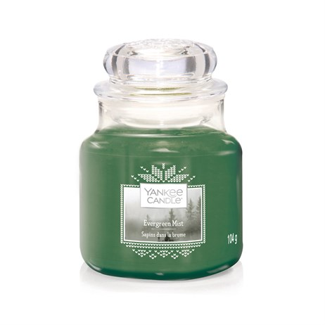 Yankee Candle Christmas - Small Jar - Evergreen Mist (1623742E)