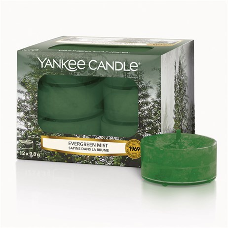 Yankee Candle Christmas - Tea Lights - Evergreen Mist (1623612E)