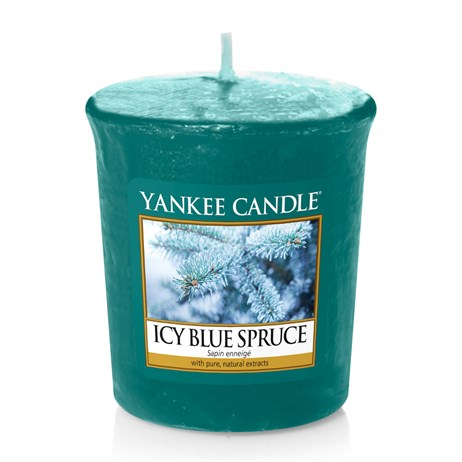 Yankee Candle Christmas - Votive - Icy Blue Spruce (1595586E)