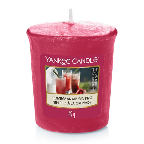 Yankee Candle Christmas - Votive - Pomegranate & Gin Fizz (1623594E)