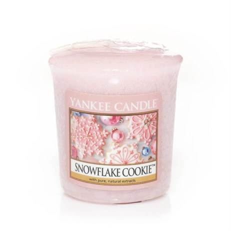 Yankee Candle Christmas - Votive - Snowflake Cookie (1275345E)