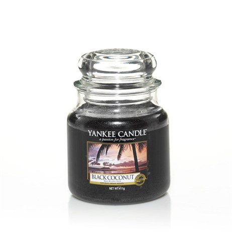 Yankee Candle - Medium Jar - Black Coconut (1254004E)