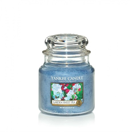 Yankee Candle Classic Medium Jar - Garden Sweet Pea (1152870E)