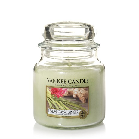 Yankee Candle Classic Medium Jar - Lemongrass & Ginger (1507705E)