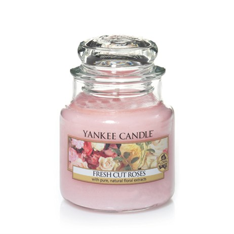 Yankee Candle Classic Small Jar - Fresh Cut Roses (1038355E)