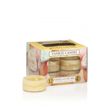 Yankee Candle Classic Tea Lights - Vanilla Cupcake (1093710E)
