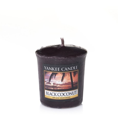 Yankee Candle Classic Votive - Black Coconut (1254007E)