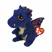 Ty Beanie Boos Toy - Saffire Blue Dragon (36879)