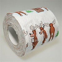 Loo Rolls - Hurry Up! - 3 Ply, 200 Sheet Christmas Roll (PD00213)