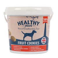 Healthy Paws Fruit Cookie Treats 500g Bucket HP
