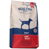 Healthy Paws Game & Millet (Adult) 12kg Dog Food