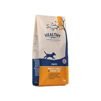 Healthy Paws British Turkey & Brown Rice (Puppy) 2kg Dog Food