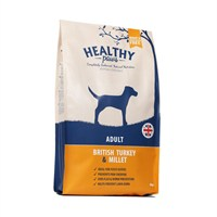 Healthy Paws British Turkey & Millet (Adult) 6kg Dog Food