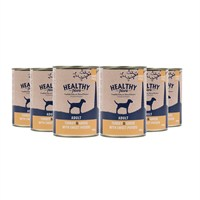 Healthy Paws Turkey & Goose with Sweet Potato (Wet) Can 400g Dog Food - 6 Pack