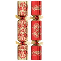 Tom Smith Red & Gold Luxury Crackers - 6 x 12.5 Inch  (XAFTS2401)