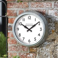 Outside In Padstow Wall Clock (5160090)