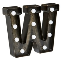 Lumieres Light Up Letters - W (3180333)