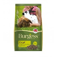 Burgess Excel Nuggets With Mint For Adult Rabbits Small Animal Food - 2kg