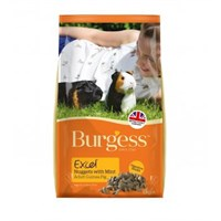 Burgess Excel Nuggets With Mint For Adult Guinea Pig Small Animal Food - 2kg