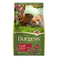 Burgess Excel Nuggets With Cranberry & Ginseng For Mature Rabbit Small Animal Food - 2kg