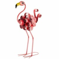 Smart Garden Ornamental Metal Florence Flamingo Statue (5030281)