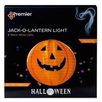 Premier Halloween Battery Operated Jack O Lantern - 40cm (HB181005)