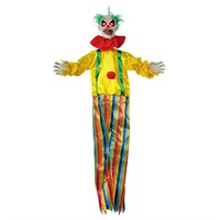 Premier Halloween 1.2m Battery Operated Talking Clown (HB196029)