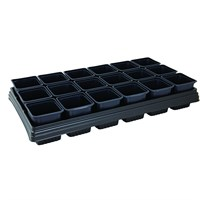 Gardman Growing Tray with 18 Square Pots (8473)
