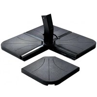 Supremo 25kg Set of 4 Slabs Outdoor Garden Parasol Base