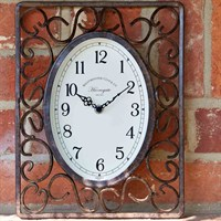 Outside-In Harrogate 12 x 9in Wall Clock (5062030)