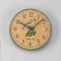Outside-In Blue Tit 8in Wall Clock (5064001)