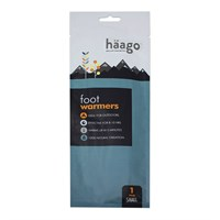 Haago Single Pack Disposable Large Insole Warmer (764374)