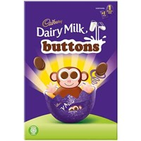 Cadbury Chocolate Buttons Small Easter Egg - 74g (782815)