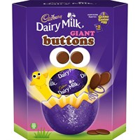 Cadbury Buttons Giant Chocolate Easter Egg 419g