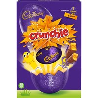 Cadbury Crunchie Large Choclate Easter Egg 233g