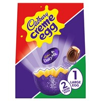 Cadbury Crème Chocolate Easter Egg Large 233g
