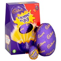 Cadbury Crème Chocolate Easter Egg Medium - 138g