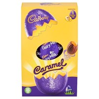 Cadbury Caramel Chocolate Easter Egg Medium 139g