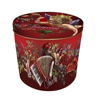 Granducale Panettone Round 4 Christmas Tin - 1kg (Design 3)