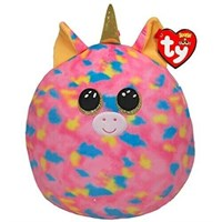 Ty Beanie Squish-A-Boo Toy - Fantasia Unicorn (39187)