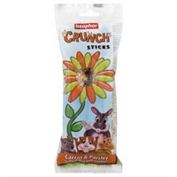 Beaphar Crunch Sticks For Small Animals - Carrot & Parsley
