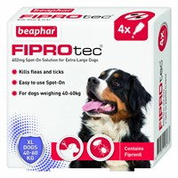 Beaphar FIPROtec Spot On Extra Large Dogs