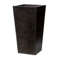 Cadix Planter Taper I 24X24X46 Black (FIT911)