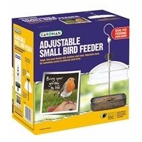 Gardman Adjustable Small Bird Feeder (A01320)