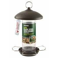 Gardman Large Black Steel Seed Feeder (A01513)