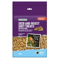 Gardman Large Seed and Insect Suet Treats 1.1kg (A04197)