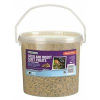 Gardman Seed and Insect Suet Treats Tub 3kg (A04219)